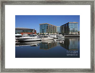 Stockton Waterscape Framed Print by Carol Groenen