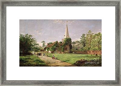 Stoke Poges Church Framed Print