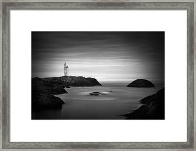 Stokksnes Lighthouse Framed Print