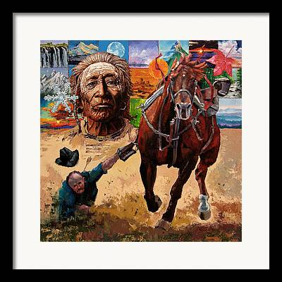 American Paintings Framed Prints