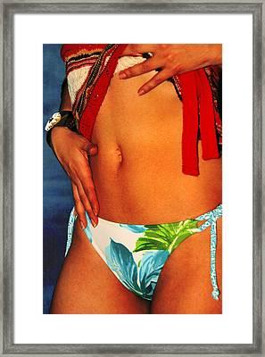 Stomach Framed Print by Tom Miles