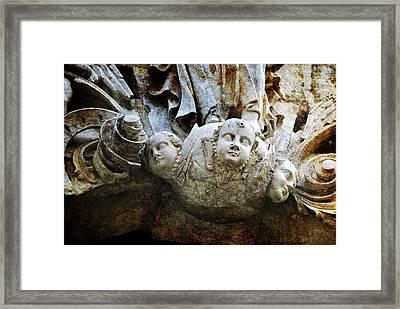 Stone Angels Framed Print