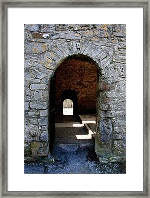 Stone Arch Framed Print