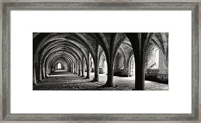 Stone Arches Framed Print by Michael Hudson