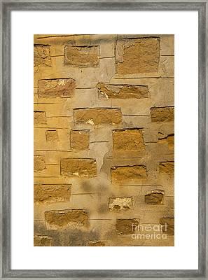 Stone Art Framed Print