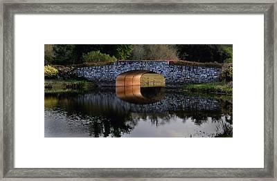 Stone Bridge At Solivita Framed Print by Lyle  Huisken