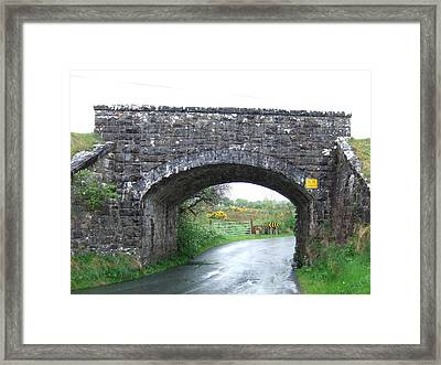 Stone Bridge In Ireland Framed Print