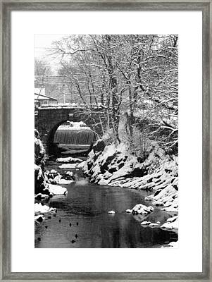 Stone-bridge Framed Print