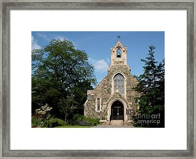 Stone Chapel Framed Print