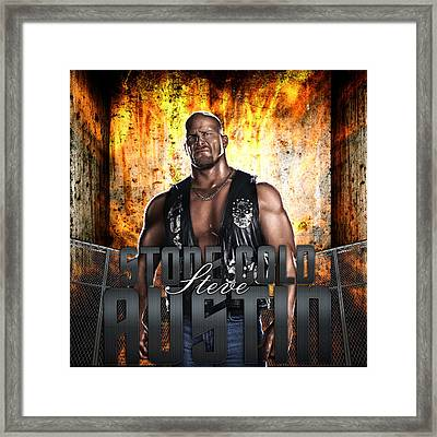 Stone Cold By Gbs Framed Print