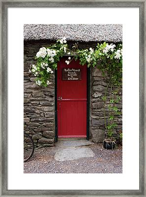 Stone Cottage, Ireland  Framed Print by Aidan Moran