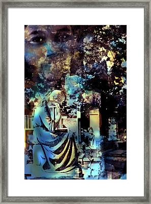 Stone Crosses And Death Angels - Tamir Rice Framed Print