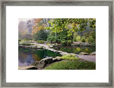 Stone Crossing Framed Print