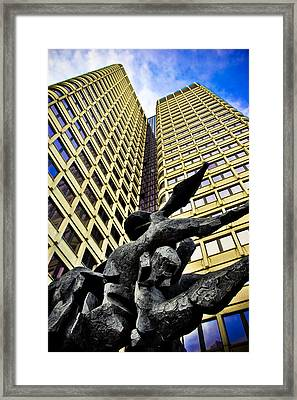 Stone Forms Framed Print by Andrew Kubica