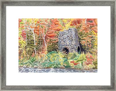 Stone Furnace Framed Print