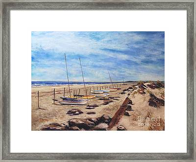 Stone Harbor Framed Print by Joyce A Guariglia