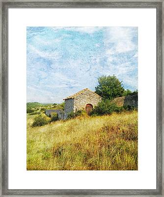 Provence Countryside Framed Print by Catherine Alfidi