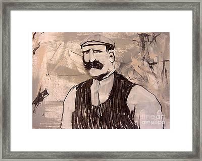 Stone Maison Framed Print
