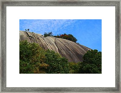 Stone Mountain Framed Print