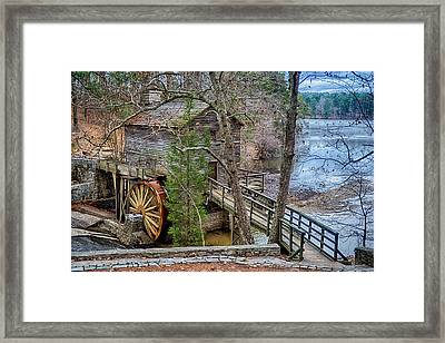 Stone Mountain Park In Atlanta Georgia Framed Print