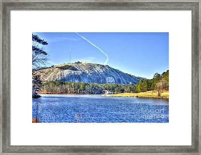Stone Mountain Park Summit Framed Print