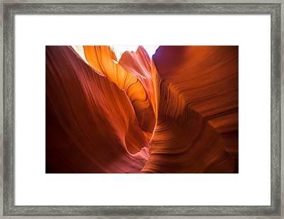 Stone Platlette Framed Print