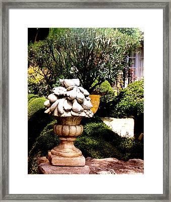 Stone Pot Framed Print
