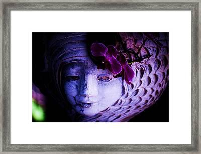 Stone Princess Framed Print