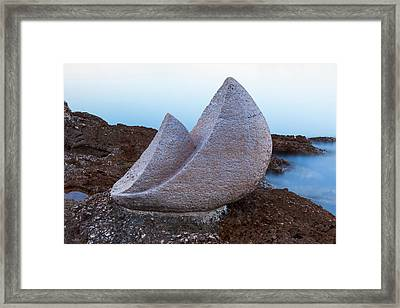 Stone Sails Framed Print