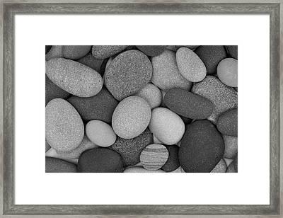 Stone Soup Black And White Framed Print