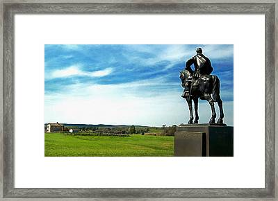 Stone Wall Jackson Framed Print by Don Lovett