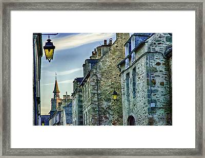 Stone Walled Framed Print