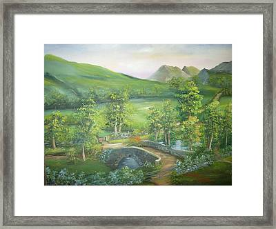 Stonebridge River Crossing Framed Print