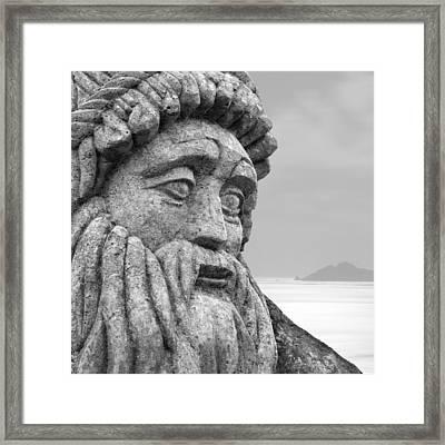 Stoned In Ireland Framed Print by Mike McGlothlen