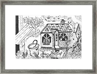 Stonegate Cottage Framed Print