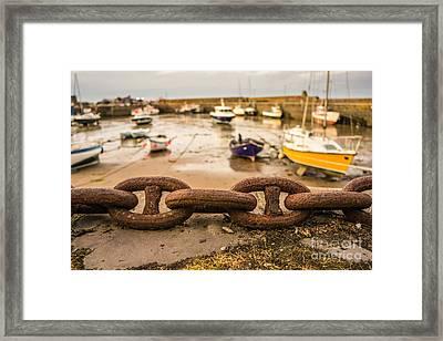 Stonehaven Chain Framed Print