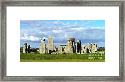 Stonehenge 6 Framed Print