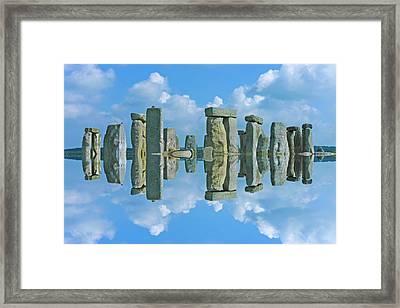 Stonehenge  Framed Print by Betsy Knapp