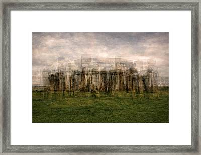Stonehenge Framed Print by Denis Bouchard