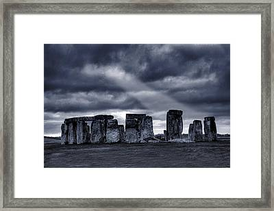 Stonehenge Framed Print by  Jaroslaw Grudzinski