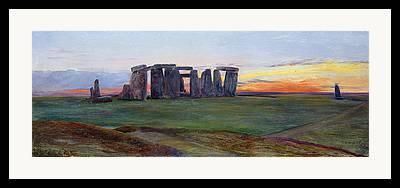 Standing Stones Framed Prints