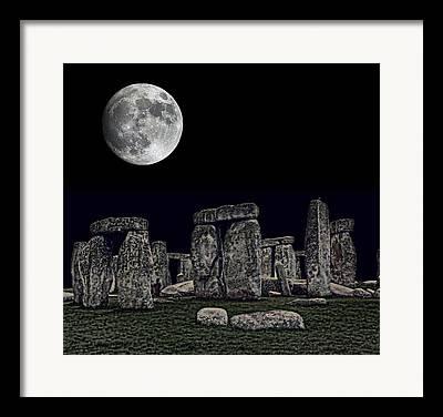 Monolith Mixed Media Framed Prints