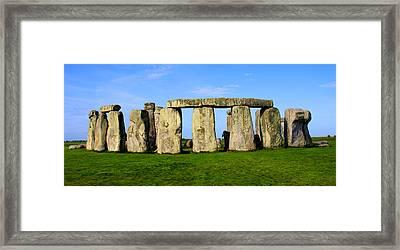 Stonehenge No 2 Framed Print by Kamil Swiatek