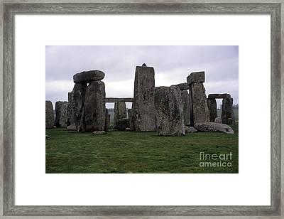Stonehenge Framed Print by Robert  Torkomian