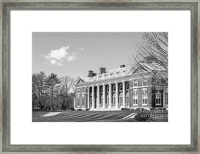 Stonehill College Donahue Hall Framed Print