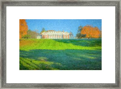 Stonehill College In October Framed Print