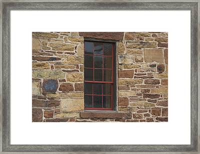 Framed Print featuring the photograph Stonehouse At Bullrun Virginia by Heidi Poulin