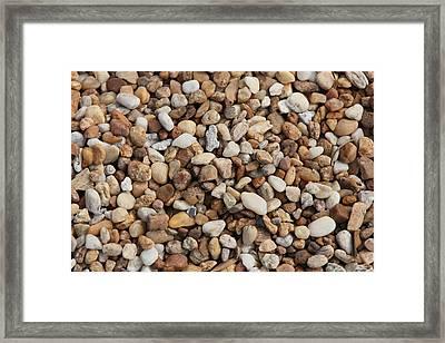 Stones 302 Framed Print