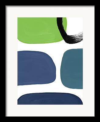Mid Century Design Mixed Media Framed Prints