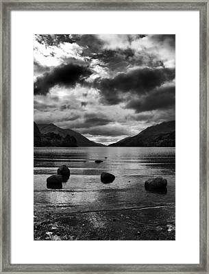 Framed Print featuring the photograph Stones by Adrian Pym